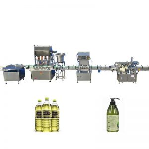 100ml-1000ml 채우는 범위 윤활유 충전물 기계