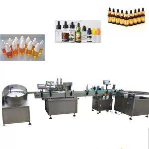 304 스테인리스 자동적 인 액체 충전물 기계