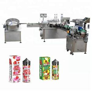 10ml를위한 자동적 인 액체 충전물 기계