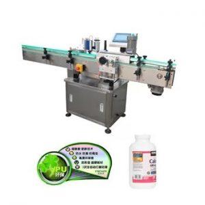 자동적 인 수직 플라스틱 유리 병 레테르를 붙이는 기계