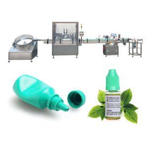 점안액 자동 액체 충전물 기계