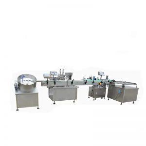 고속 액체 충전물 기계