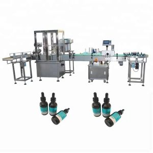 30ml 유리 병을위한 최소한도 정유 충전물 기계