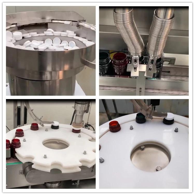 알약 기계 병 캡슐 필러를 계산 NP-SL60 더블 헤드