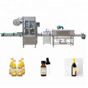 소매 수축성 병 레테르를 붙이는 기계