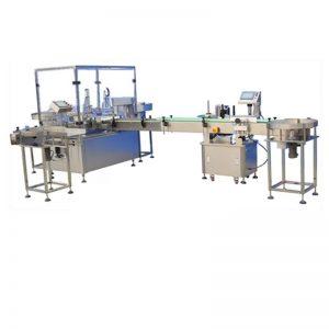 터치 스크린 통제 자동적 인 액체 충전물 기계